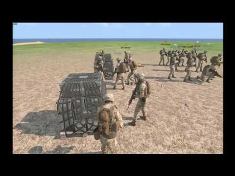 Marine Patrol Op| M249 SAW Gunner| Arma 3