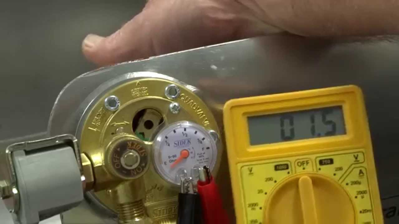How to test your LPG gauge sender. - YouTube