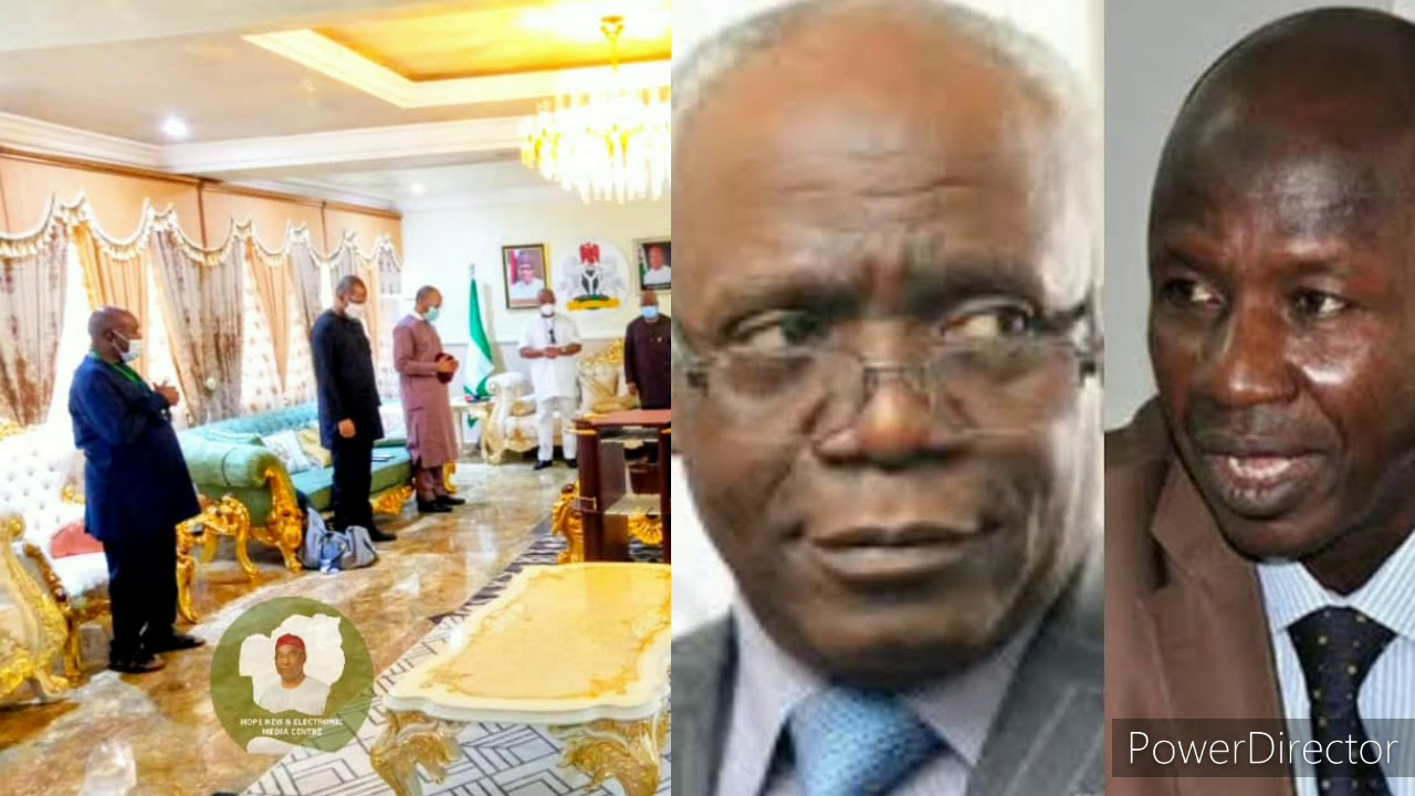 EMBATTLED EFCC BOSS NAILS  SAN FEMI FALANA IN OVER 28MILLION BRIBERY  ALLIGATION