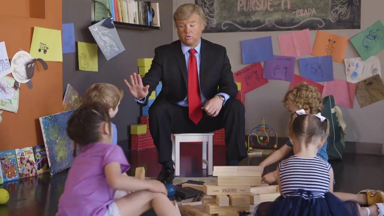 Kinder Garden: #IfTrumpWere A Kindergarten Teacher #1: Simon Says