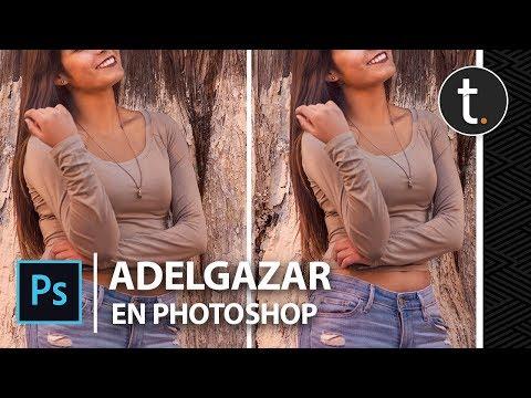 Cómo ADELGAZAR en Photoshop SIN ARRUINAR el FONDO - Tutorial en Español
