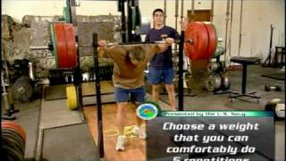 Navy SEAL Workout Series (3 of 3): Strength Training