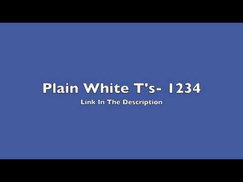 Plain White T's- 1234 (Free Download)