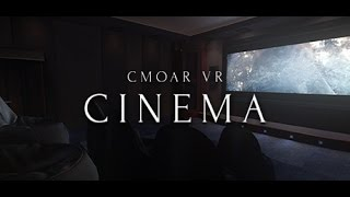 Cmoar VR Cinema Steam Launch Trailer
