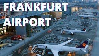 Frankfurt Airport - Spotting, Terminal, Landing, and Takeoff  *HD*