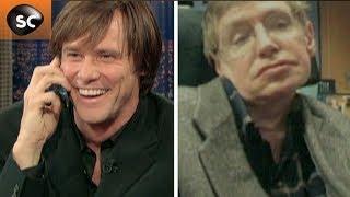 Jim Carrey et Stephen Hawking : l'incroyable Stephen Hawking