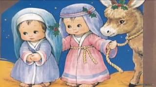 В яслях маленький Христос [КАРАОКЕ] детские рождественские христианские песни