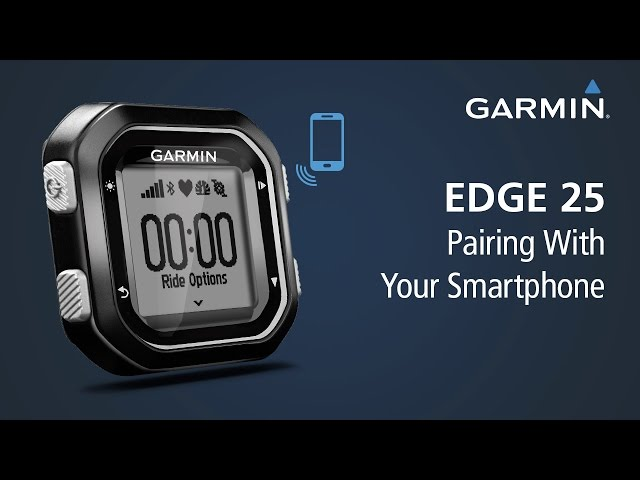 Learn how to stay connected with smart notifications on your Edge 25. Once you pair with your Bluetooth-compatible smartphone – and download Garmin Connect Mobile – you can receive emails, texts and alerts right on your device. The best part? Once paired, Edge lets you keep friends and family in the loop with your rides. LiveTrack lets you invite followers using email or social media, so they can view your live data on Garmin Connect. How's that for smart?