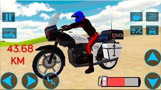 Motorbike Stunt Race 3D - Gameplay Android game - Motorbike driving game