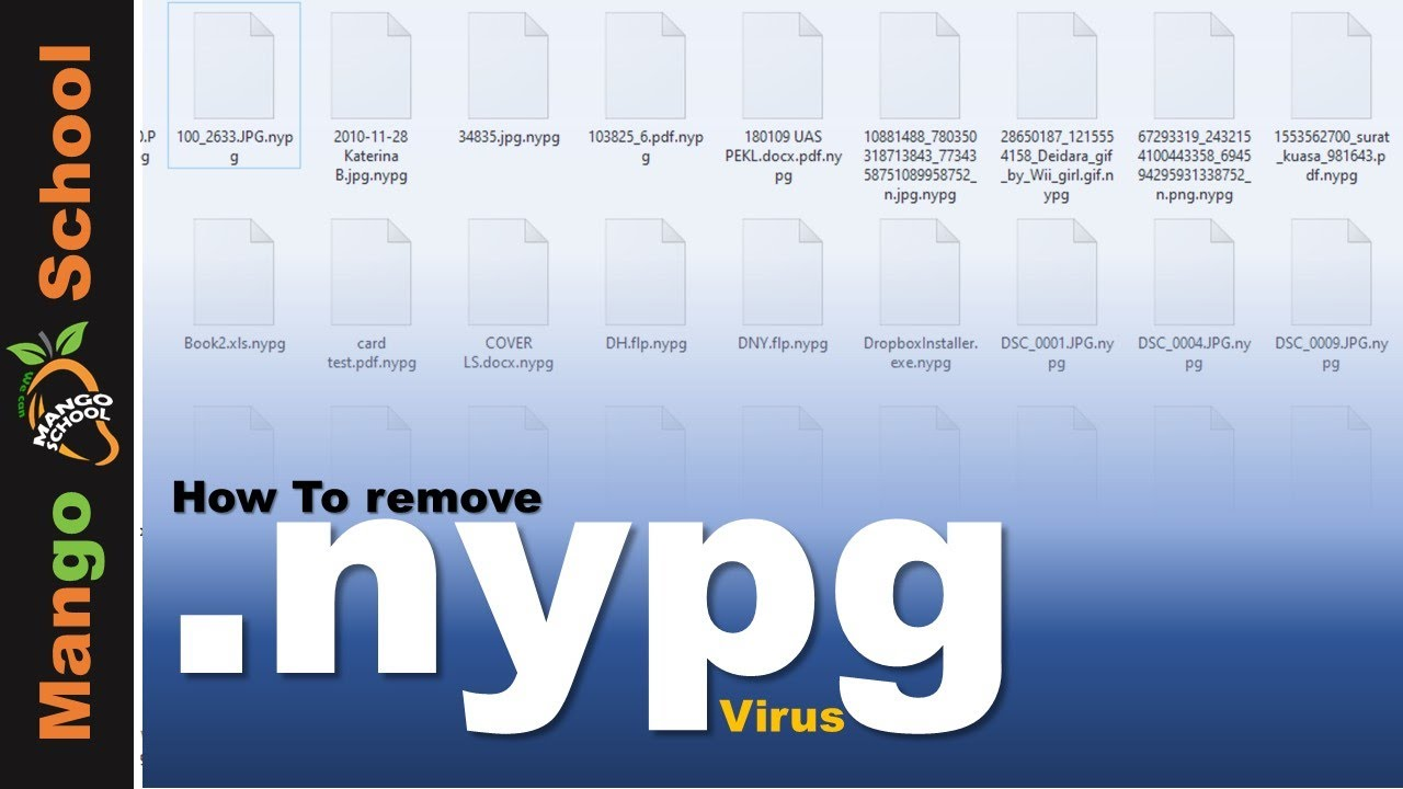 NYPG file virus ransomware [.nypg] Removal and decrypt guide