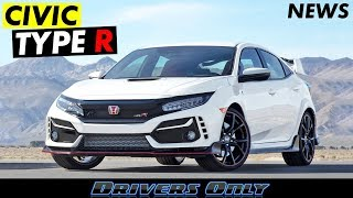 2020 Honda Civic Type R - News Announcement From Honda