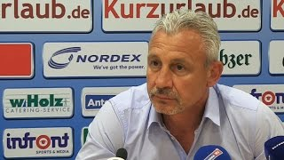 PK mit dem neuen Cheftrainer Pavel Dotchev