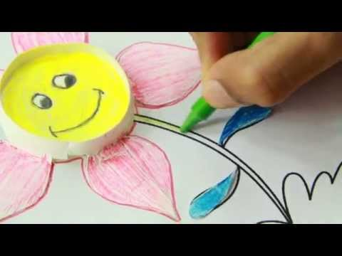How To Make Paper Cup Flower Craft Youtube