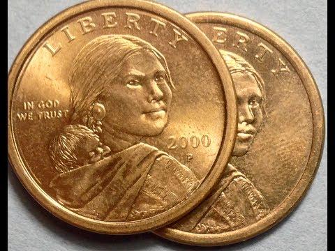 No Date Sacagawea Dollar Coins