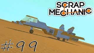 "Daily Scrap Mechanic #99 ""Fan Creations: Jet oder Dragster - fast vehicle"" ★ Let's play HD deutsch"