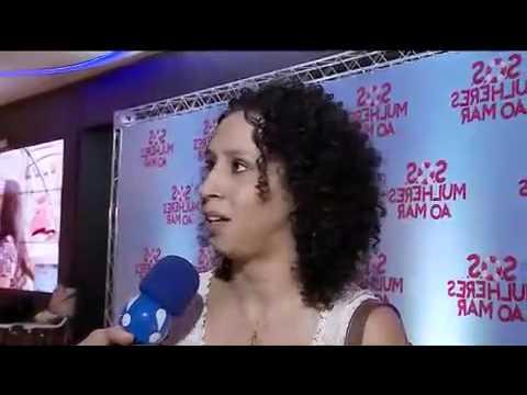 Thalita Carauta Conta Tudo Sobre 'S O S    Mulheres Ao Mar' - TV Fama 07/04/2014
