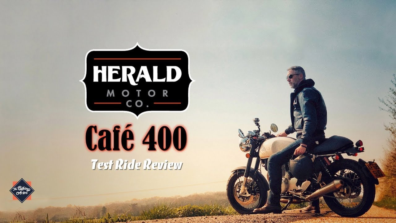 Herald Motorcycles - Café 400 Test Ride Review