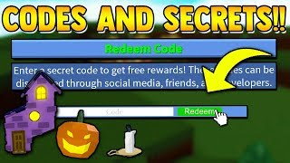 *NEW* UPDATE CODE & ALL SECRETS!! | Build a boat for Treasure ROBLOX