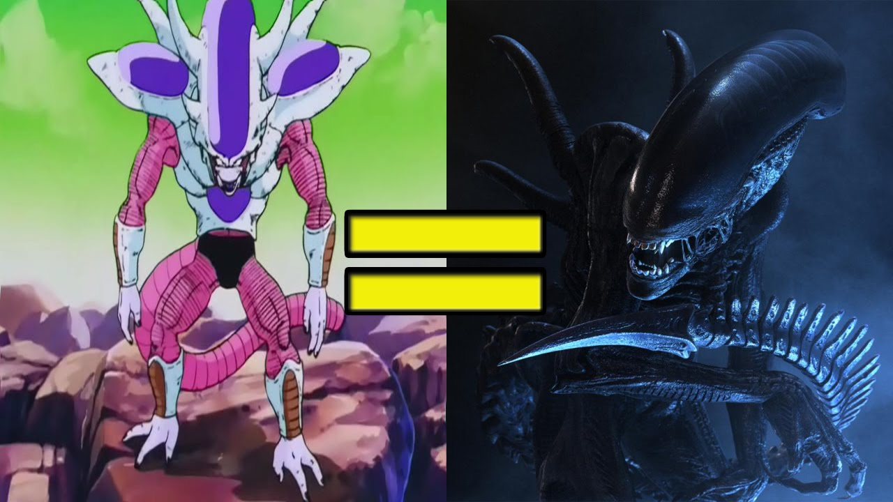is friezas third form design a xenomorph youtube