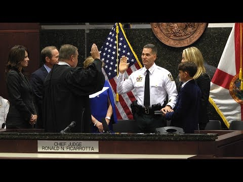 Chad Chronister Becomes Sheriff of Hillsborough County