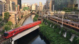 【まるのうちせん、ちゅうおうせん】東京メトロ丸ノ内線 2000系 & 02系、中央線 E233系@御茶ノ水駅