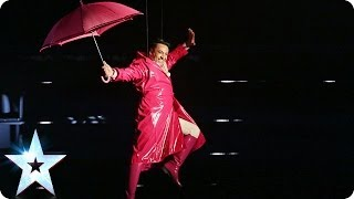 It's Raining Men with Christian Spridon | Britain's Got Talent 2014