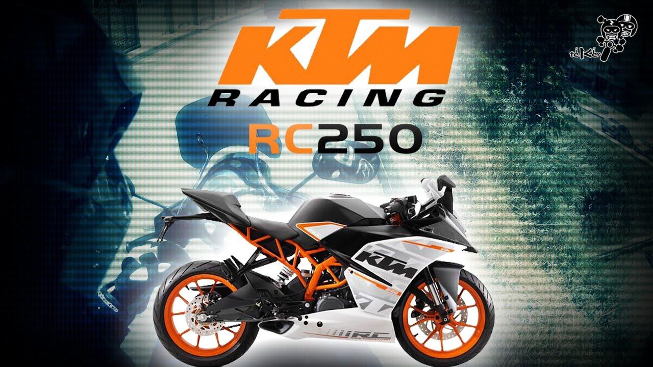 Ktm Rc250 Test Surusu Ktm Rc250 Test Drive Rc250 Walkaround Eng Sub Youtube