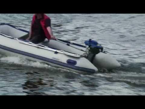Лодочный моторПАРУС 4.7 и лодки CD 320