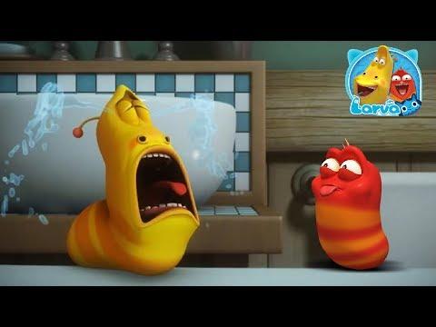 Ấu Trùng Tinh Nghịch Larva | Câu Chuyện Chiếc Bồn Tắm | Larva Terbaru Cartoon Movie