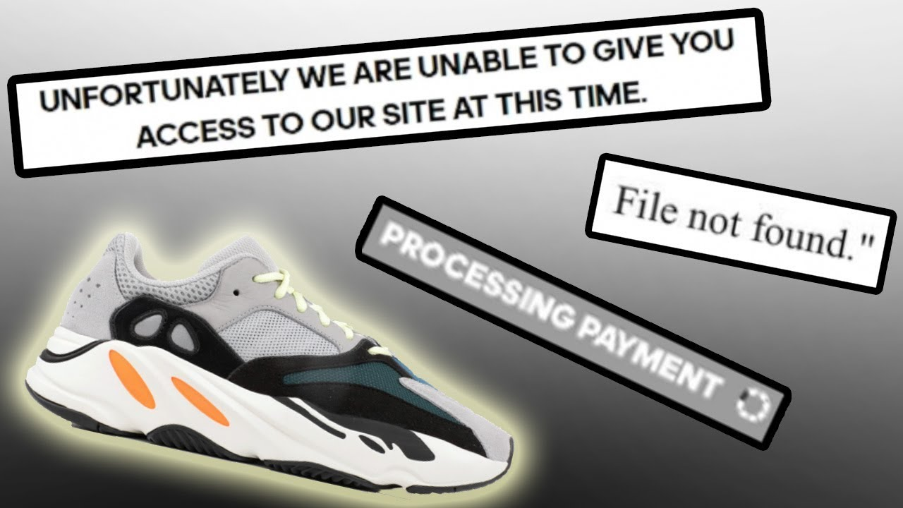 What Happened During The YEEZY 700 WAVERUNNER Drop ?! | PEOPLE JIG PATCHED  ?!