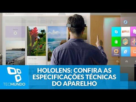 HoloLens: confira as especificações técnicas do aparelho