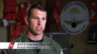Rescue Swimmer Darren Harrity |  2016 Pacific Area Awards
