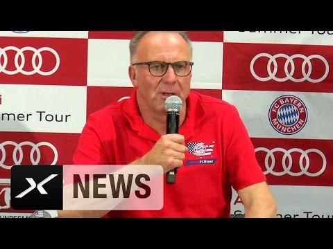 Karl-Heinz Rummenigge: Deshalb fliegen wir nach Katar   FC Bayern München