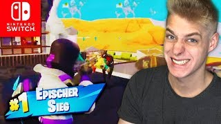 STREAMSNIPER Honored & Epic Victory | Fortnite Nintendo Switch