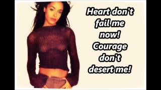 Aaliyah - Journey To The Past (Lyrics)