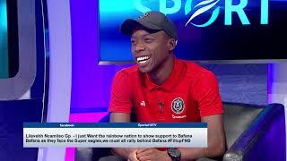 Thomas Mlambo chats to Ben Motshwari
