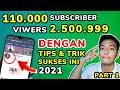MINDSET PART1 cara mendapatkan subscriber youtube 2021 tanpa aplikasi aman ~ Dunia Bang Joe MP3