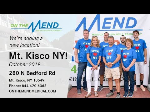 big announcement on the mend medical supplies expands to mt kisco westchester county youtube big announcement on the mend medical supplies expands to mt kisco westchester county