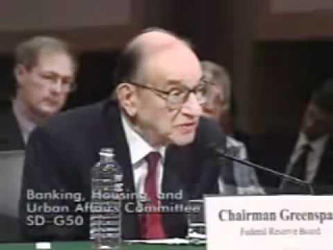 Greenspan states cannot guarantee purchasing power Senate Banking Committee 2005