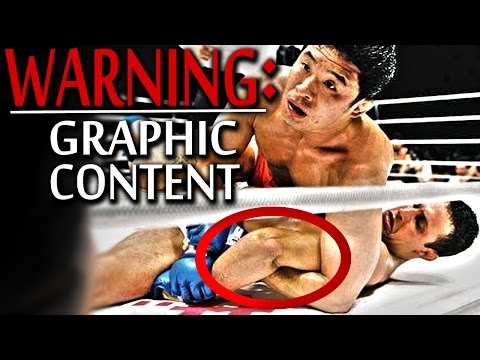 MMA broken arm! Nasty breaks & fighters that don't tap out!