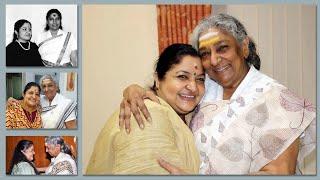 S Janaki | Ks Chitra | Mother - Daughter Moments