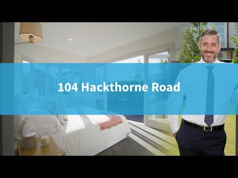 104 Hackthorne Road  Auction  Cameron Bailey  Harcourts Gold