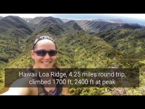 Hawaii Loa Ridge Trail on Oahu