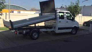 Volkswagen Crafter cabina dubla basculabil trilateral