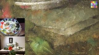 ТЕСТ - мастер класс Императорский фарфор - завершение картины