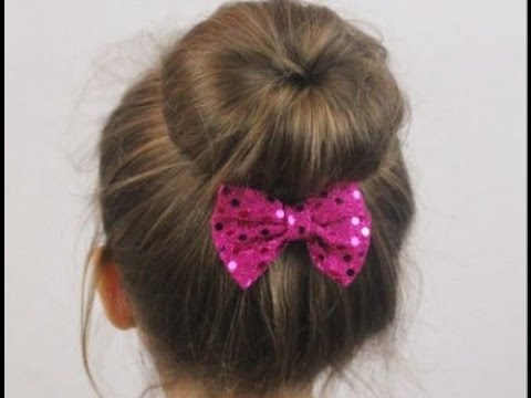 Hairstyles For Kids Girls For Party - YouTube