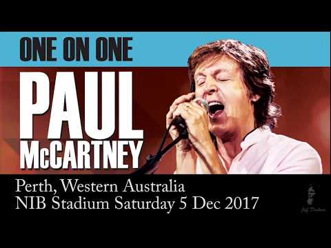 Paul McCartney in concert Perth Dec 2017