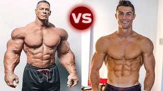 John Cena Vs Cristiano Ronaldo Transformation 2018 | Who is Better?