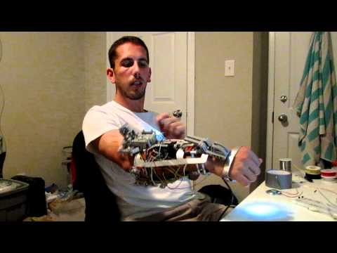 Iron Man Mech-Tech Gauntlet