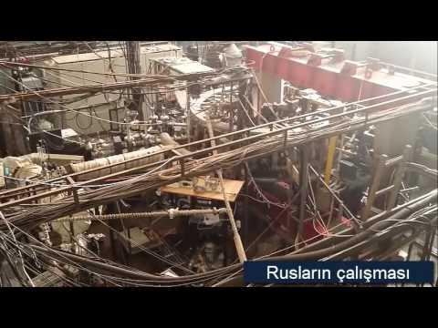 Stellarator Wendelstein 7-X  ve Rus çalışması